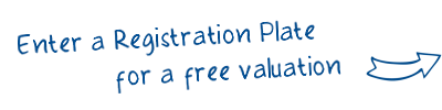 Enter a Registration Plate for a free valuation